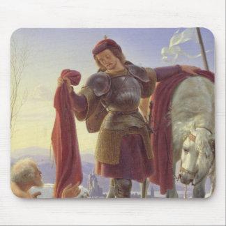 St. Martin and the Beggar, 1836 Mouse Mat