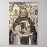 St. Martin de Porres and Child Poster