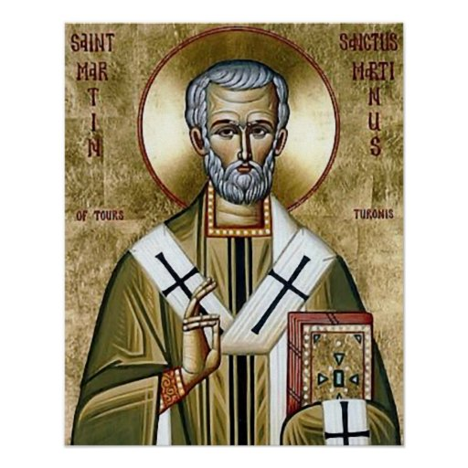 St Martin de Tours icon Poster
