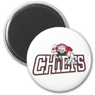 St Martin Youth Football Chiefs 6 Cm Round Magnet