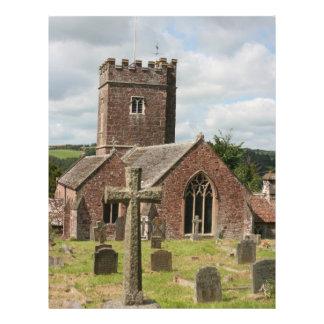 St Mary Church Bickleigh Devon UK Flyer