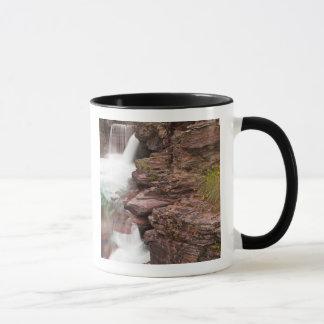 St Mary Falls in Glacier National Park in Mug