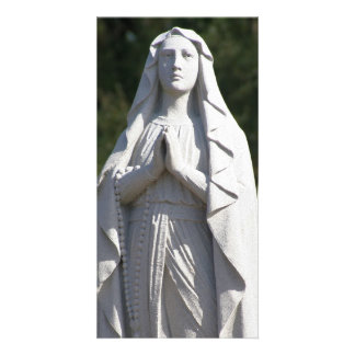 St. Mary in Prayer Photo Card