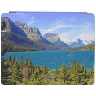 St. Mary Lake,  Glacier National Park,  Montana iPad Cover