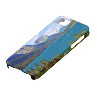 St. Mary Lake,  Glacier National Park,  Montana iPhone 5 Case