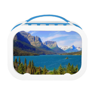 St. Mary Lake,  Glacier National Park,  Montana Lunch Box