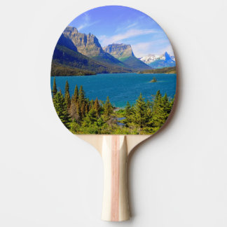 St. Mary Lake,  Glacier National Park,  Montana Ping Pong Paddle