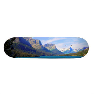 St. Mary Lake,  Glacier National Park,  Montana Skate Deck