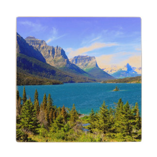 St. Mary Lake,  Glacier National Park,  Montana Wood Coaster