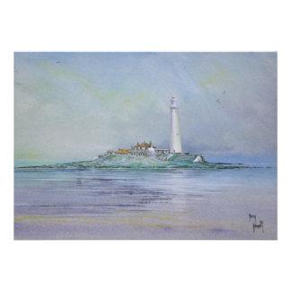 St Mary s Lighthouse England Invitation
