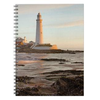 St Mary's Lighthouse England Notebook
