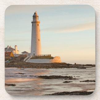 St Mary's Lighthouse England Set of 6 Coasters