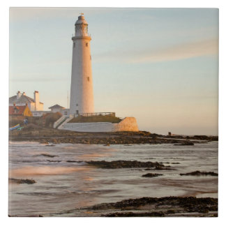 St Mary's Lighthouse England Tile/Trivet Tile