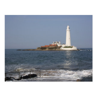 St Mary s Lighthouse Whitley Bay Post Card