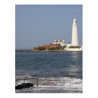 St Mary s Lighthouse Whitley Bay Postcard