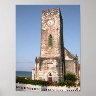 St Mary s Parish Church Port Maria Jamaica Poster