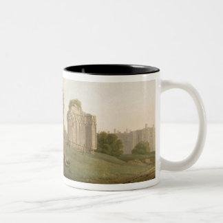St Mary's Abbey, York, c.1778 (oil on canvas) Two-Tone Coffee Mug