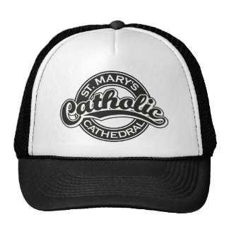 St. Mary's Catholic Cathedral Black Trucker Hat