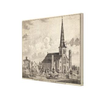 St Mary's Catholic Church Canvas Print