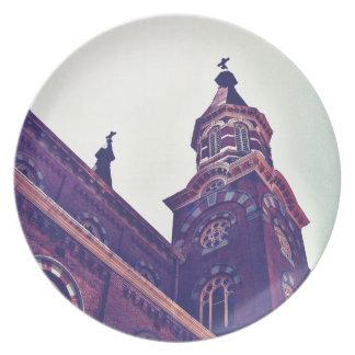 St. Mary's Catholic Church Plate