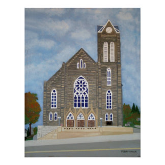 St. Mary's Catholic Church Posters