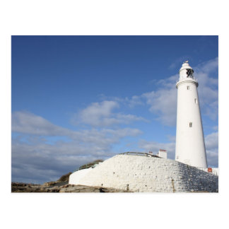 St Mary's Lighthouse in Whitley Bay Postcard