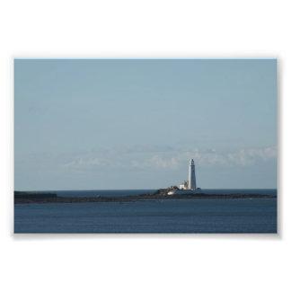 St. Mary's Lighthouse Photograph
