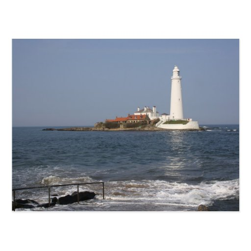 St Mary's Lighthouse, Whitley Bay Post Card