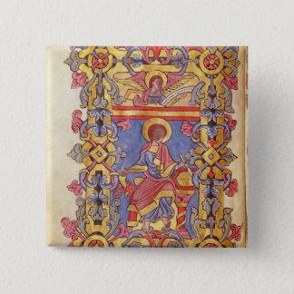 St. Matthew 15 Cm Square Badge