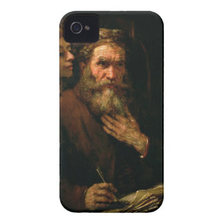 St. Matthew and The Angel, 1655-60 (oil on canvas) iPhone 4 Covers