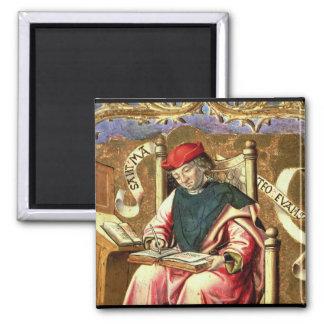 St. Matthew: Detail of Altarpiece Square Magnet