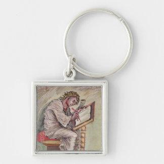 St. Matthew, from the Ebbo Gospels Keychains