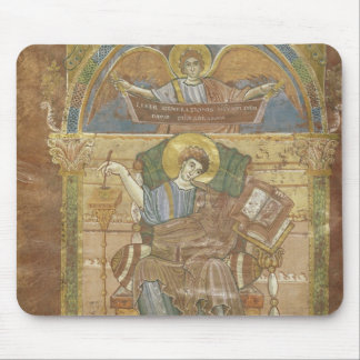 St Matthew from the Gospel of St Riquier Mousepad