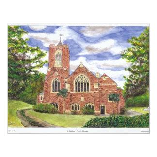 St.Matthews Chelston 11 Cm X 14 Cm Invitation Card