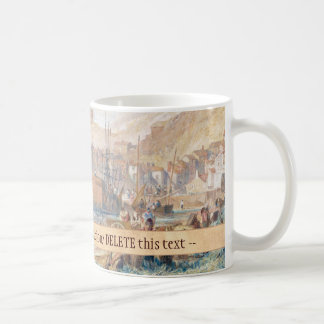 St. Mawes, Cornwall Joseph Mallord William Turner Basic White Mug