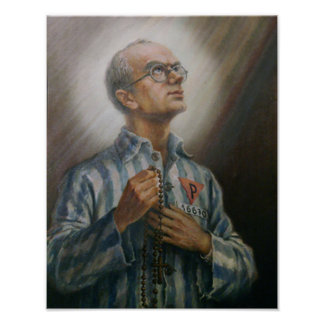 St Maximillian Kolbe Poster