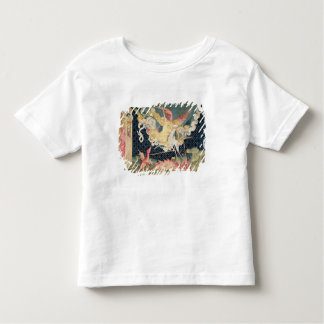 St. Michael and his angels fighting the dragon Tshirts
