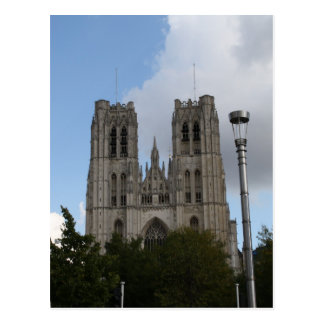 St. Michael and St. Gudula Cathedral, Brussels Postcard