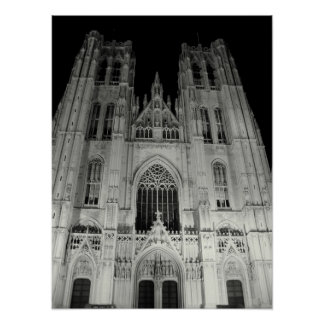 St Michael and St Gudula Cathedral Print