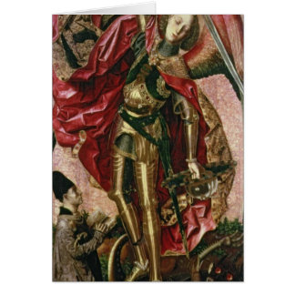 St. Michael and the Dragon Card