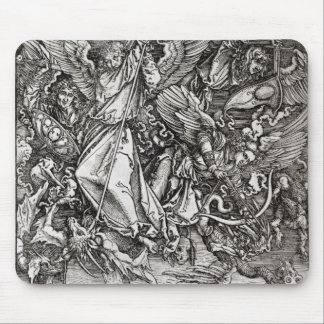 St. Michael and the Dragon, from a Latin Mouse Pad