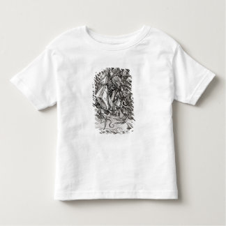 St. Michael and the Dragon, from a Latin Toddler T-Shirt