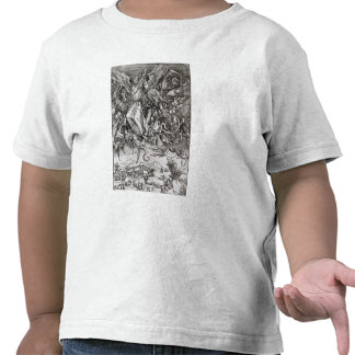 St. Michael and the Dragon, from a Latin Tee Shirts