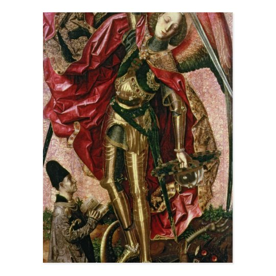 St. Michael and the Dragon Postcard