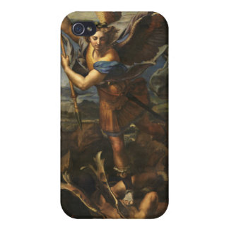 St. Michael and the Satan - Raphael iPhone 4/4S Case