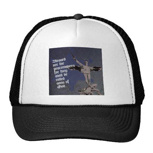 St. Michael Archangel Hat- Sheriff Star Deputy