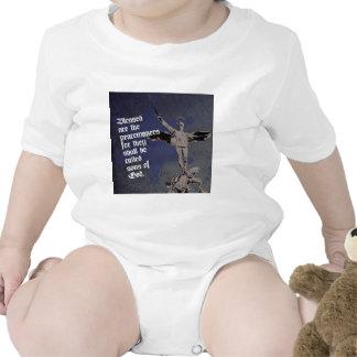 St. Michael Archangel - Sheriff Star Deputy Baby Bodysuits