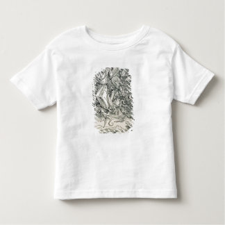 St. Michael Battling with the Dragon Toddler T-Shirt