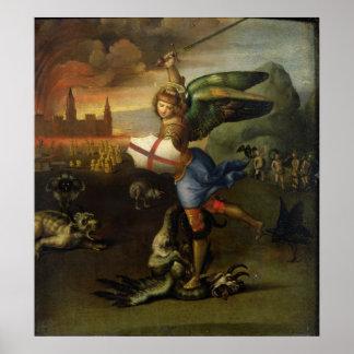 St. Michael, c.1503-05 Poster