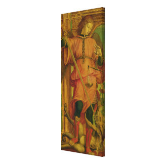 St. Michael Stretched Canvas Prints